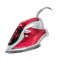 Russell Hobbs 23990 Ultra Steam Pro Iron, Red