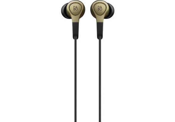 B&O PLAY by Bang & Olufsen H3 2nd-Generation In-Ear Headphones with Microphone & Remote, Champagne