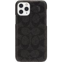 Coach Slim Wrap Signature C Case for Apple iPhone 11 Pro, Black