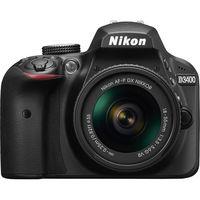 Nikon D3400 DSLR Camera with 18-55mm Lens, Black