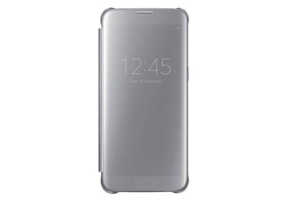 Samsung Galaxy S7 Edge Clear View Cover Silver