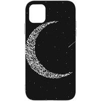 Switch iPhone 11 Pro Max Clear Case Matte Calligraffiti Moon