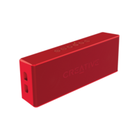 Creative MUVO 2 Portable Water-resistant Bluetooth Speaker, Red