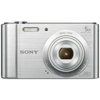 Sony Cyber-shot DSC-W800 Digital Camera, Silver