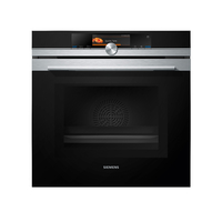 Siemens Built In Electric Oven with Steam & Microwave Function, 60 cm, HN678G4S1M