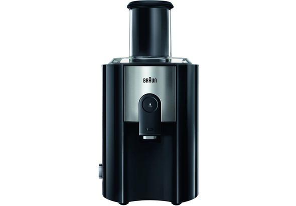 Braun J500 Multiquick 5 Spin Juice Extractor, Black