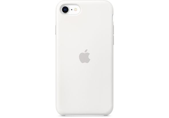 Apple iPhone SE Silicone Case,  White