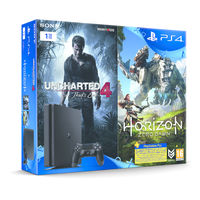 Sony PS4 1TB Slim Bundle With 2 Games and 3 months PS Plus Membership voucher