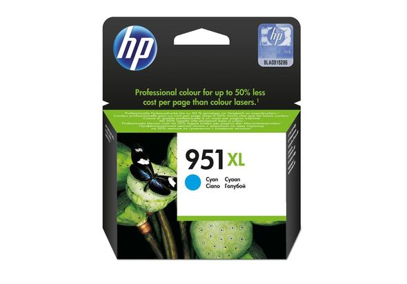 HP CN046AE 951XL High Yield Cyan Original Ink Cartridge