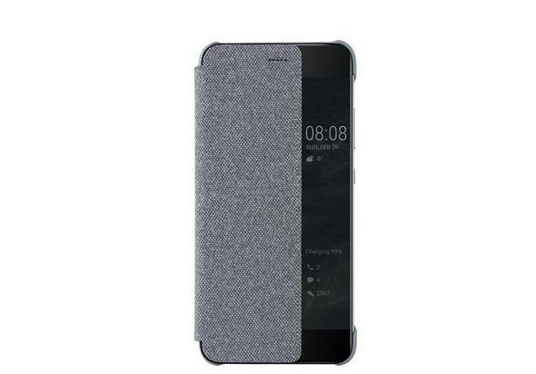 Huawei P10 Plus Smart View Flip Case, Light Grey