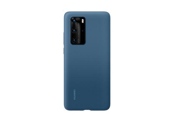Huawei HUA-P40PRO-SIL-BLU Silicon Case Blue