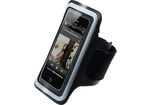 iLuv Sports Armband for iPhone 5/5s/SE, Black