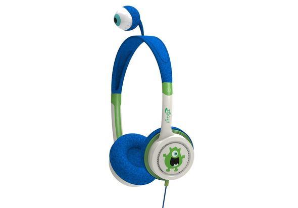 iFrogz Little Rockers Kids Monster Headphones, Blue