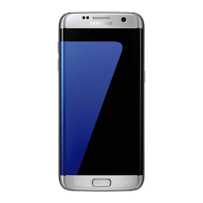 Samsung Galaxy S7 Edge Smartphone, 32 GB, Silver Titanium