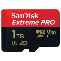 SanDisk Extreme Pro 1TB Micro SDXC Memory Card