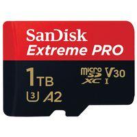 سانديسك أكستريم برو  SDXCبطاقة ذاكرة سعة 1 تيرا بايت ميكرو