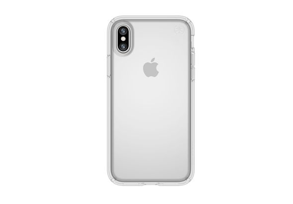 Speck Presidio Clear Case for iPhone X, Clear/Clear