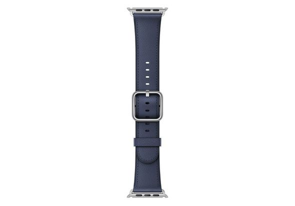 Apple 42mm Classic Buckle For Apple Watch, Midnight Blue