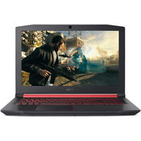 "Acer Nitro 5 i7-8750HQ 16GB, 1TB HDD+ 256GB SSD, GTX1060 6GB, 15.6"" Gaming Laptop, Black"