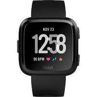 Fitbit Versa Fitness Watch, Black Aluminum