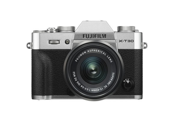 Fujifilm X-T30 Mirrorless Digital Camera with 15-45mm Lens,  Black