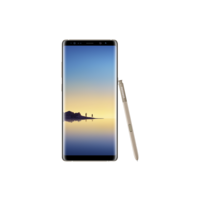 Samsung Galaxy Note8 Smartphone, Maple Gold