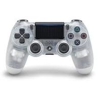 Sony PS4 Dualshock Wireless Controller, Crystal