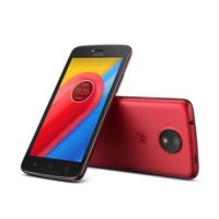 Motorola Moto C Smartphone LTE, Red