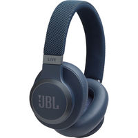 JBL LIVE 650BTNC Wireless Over-Ear Noise-Canceling Headphones,  Blue