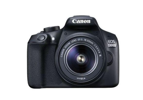 Canon EOS 1300D Lens Kit- 18 MP, DSLR Camera, 18 - 55mm