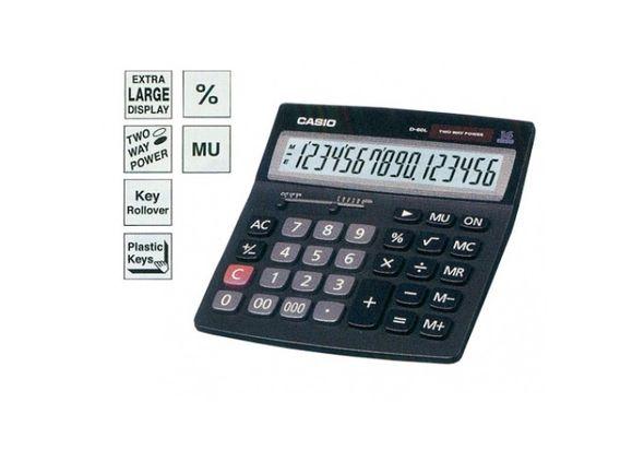 Casio D-40L Desk-Top Type Calculator