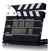 Satzuma Alarm Clock 4 Port USB Hub