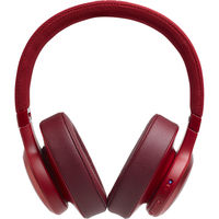JBL Live 500BT Wireless Over Ear Headphones,  Red