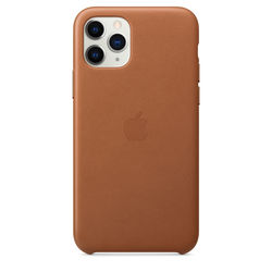 Apple iPhone 11 Pro Leather Case, Saddle Brown