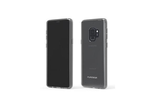 PureGear Slim Shell Case for Samsung Galaxy S9, Clear