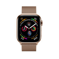 Apple Watch Series 4 40mm Gold Stainless Steel Case with Gold Milanese Loop