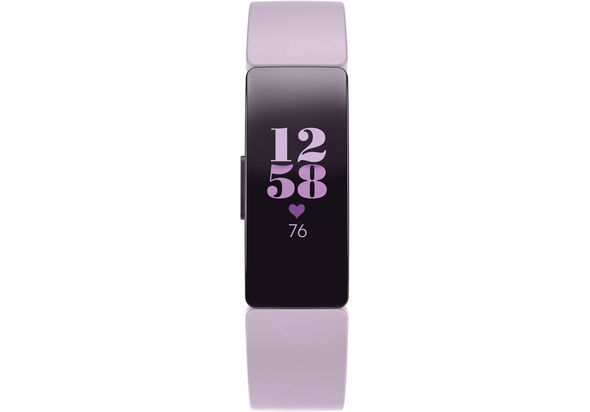 Fitbit Inspire HR Fitness Tracker, Black,  Lilac