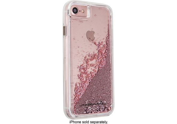 Case Mate Naked Tough Waterfall Case for Apple iPhone 7, Rose Gold