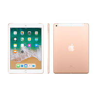 "Apple iPad 128GB 9.7"" 6th Gen (2018) WiFi+ Cellular, 128 GB,  Gold"