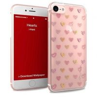 iPaint Glamour Hearts Case design TPU case for iPhone 7