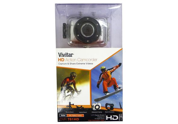 Vivitar DVR781HD 1.3MP Action Camcorder