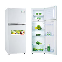 Supra SR200KS-W 2 Door Refrigerator White