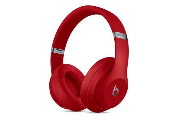 Beats Studio3 Wireless Over Ear Headphones, Red