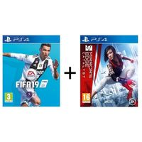 FIFA 19 for PS4+ Mirror's Edge Catalyst for PS4