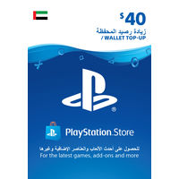 Sony Wallet top up 40 USD