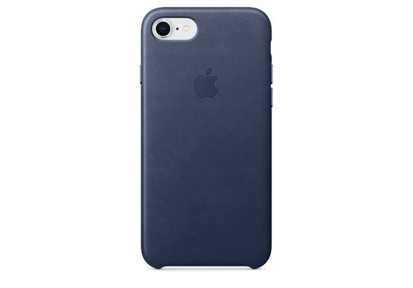 Apple iPhone 8 / 7 Leather Case, Midnight Blue
