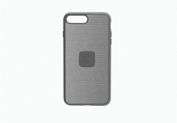 Cygnett UrbanShield iPhone 8 Plus Slim Case with Carbon Fibre, Silver