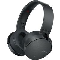 Sony XB950N1 Extra Bass Wireless Noise Cancelling Over-the-Ear Headphones, Black