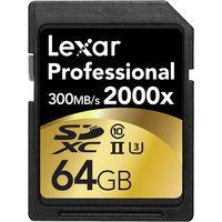 Lexar 64GB 1000x Professional SDXC UHS-II Memory Card