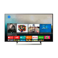 "Sony 43"" KDL43X8000E Ultra HD 4K HDR Smart Television"
